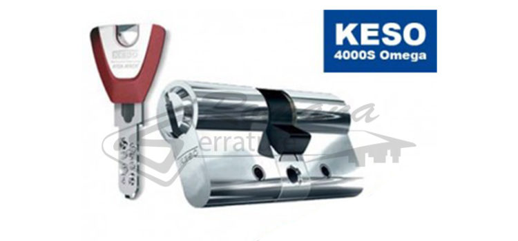 Cilindro europeo Assa Abloy Keso Omega 4000